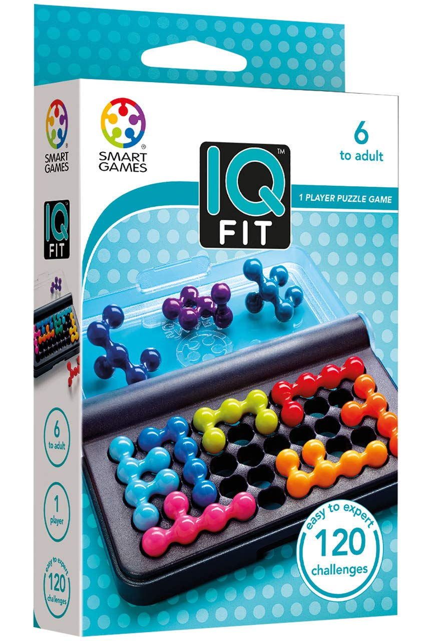 Smart Games - 515975 SG 423 | IQ Fit - Educational Logic Game Puzzle - 120 Challenges