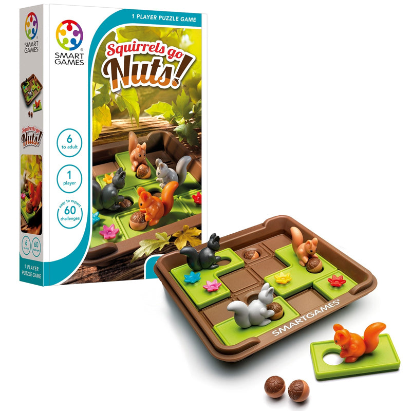 Smart Games - 521136 | Squirrels Go Nuts