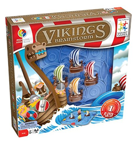 Smart Games - SG530 | Vikings Educational Logic Puzzle Game