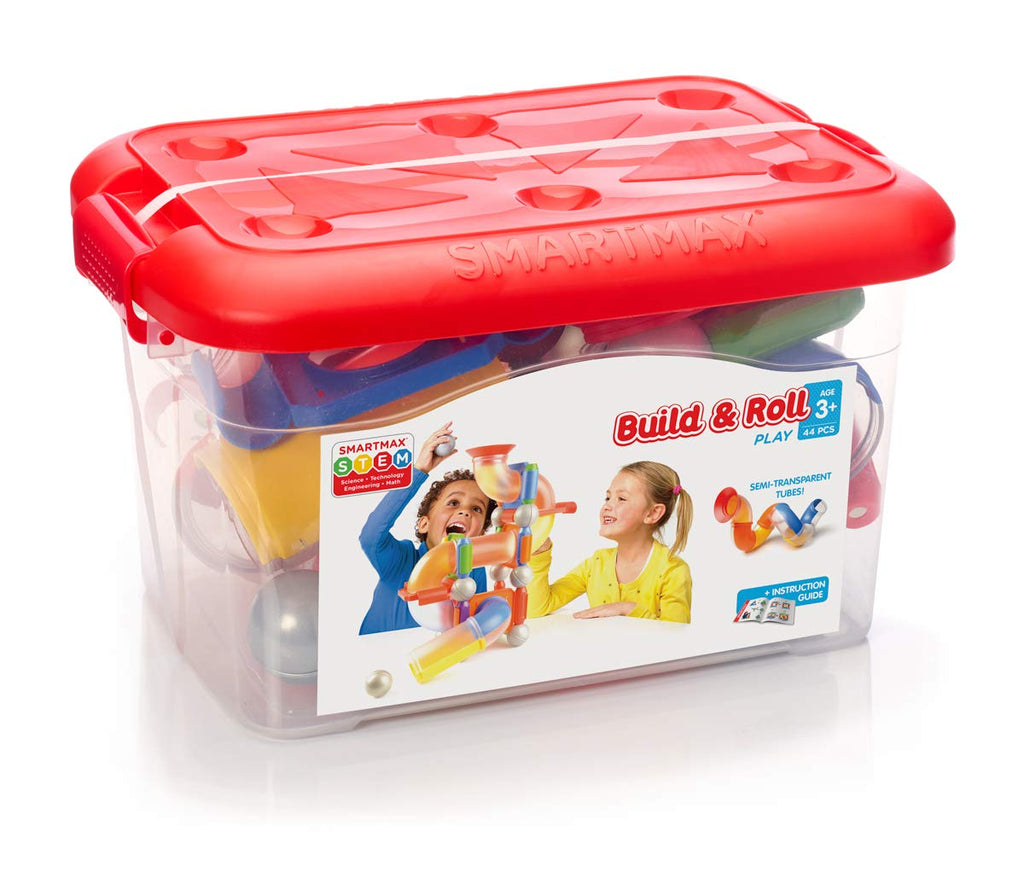 Smart Games - 250135 | Smartmax Build & Roll 44 pcs