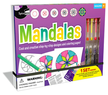 Spice Box - 24564 | Imagine It: Mandalas