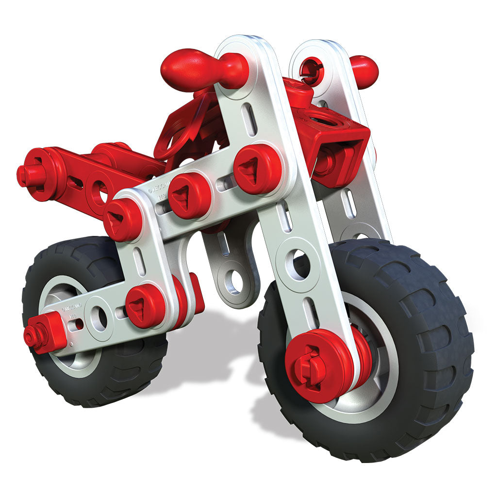 Spin Master - 6026957 | Meccano Jr. Motorcycle 3 in 1