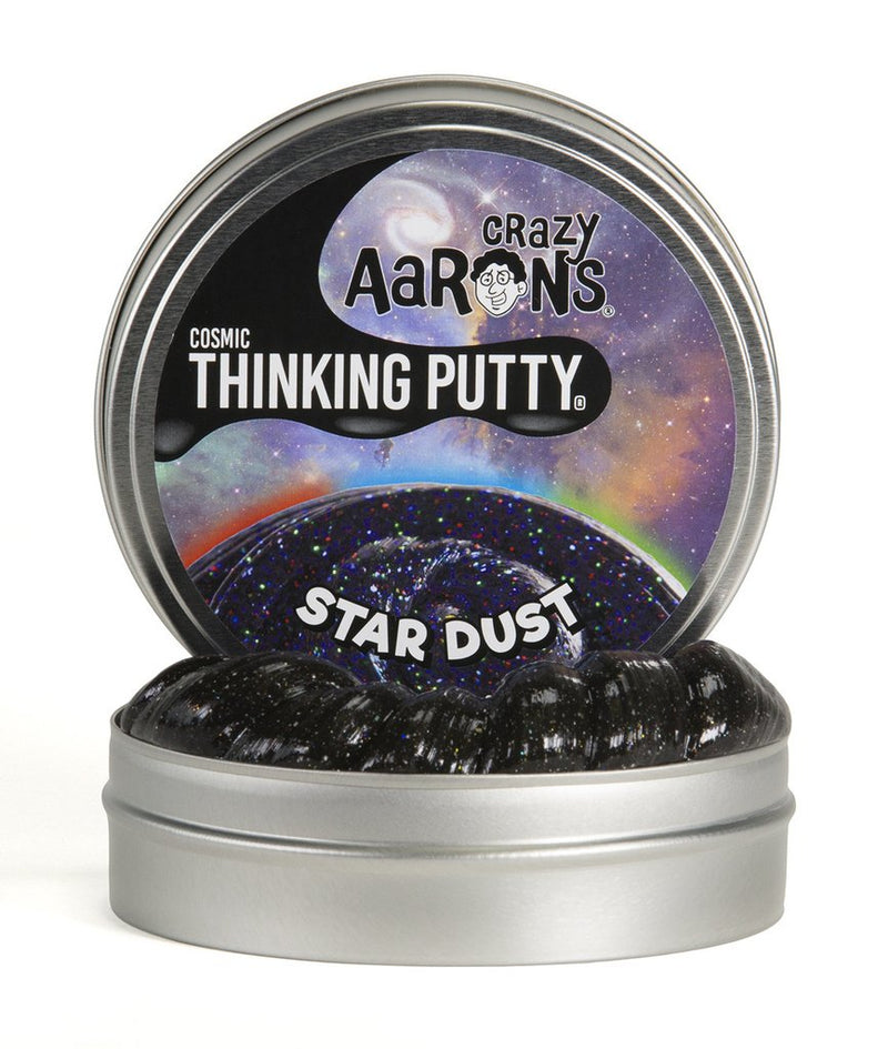 Crazy Aaron's Thinking Putty - Cosmics Glow-In-The-Dark Glitter: Star Dust