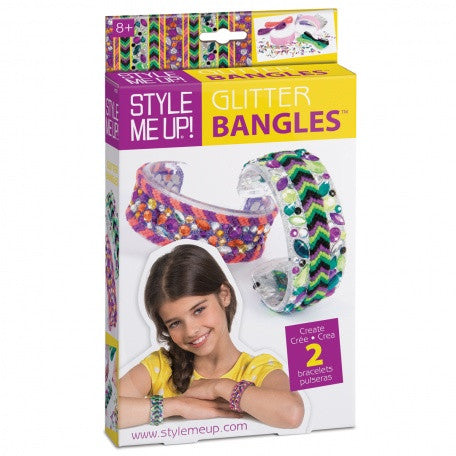 Style Me Up: Glitter Bangles - 553