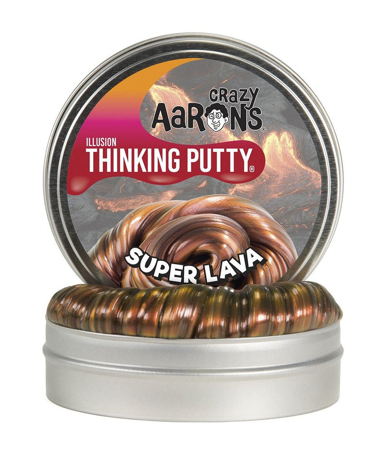 Crazy Aaron's Thinking Putty - PWSL020 | Super Illusions: Super Lava