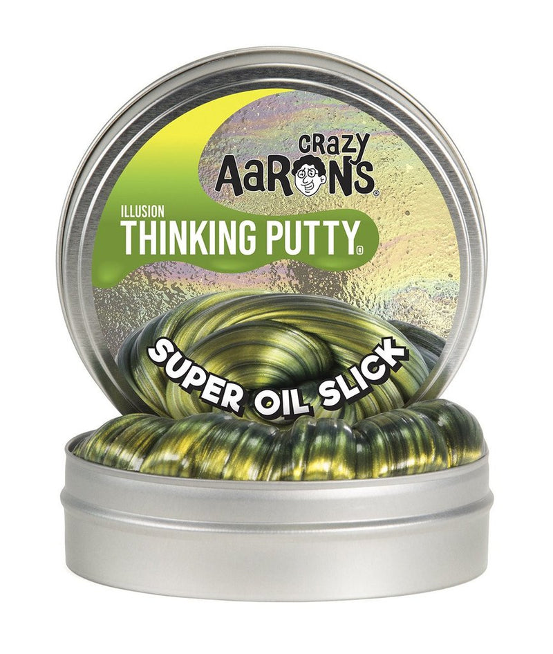 Crazy Aaron's Thinking Putty - Super Illusions: Super Oil Slick