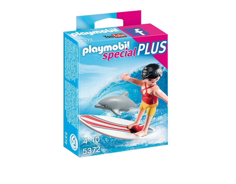 Playmobil - 5372 | Special Plus: Surfer With Surf Board