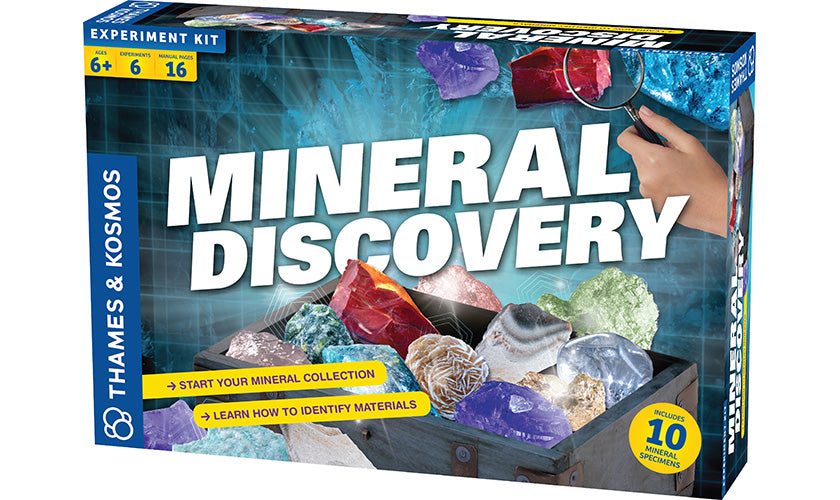 Thames & Kosmos - 665105 | Mineral Discovery Science Kit