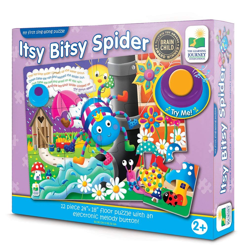 The Learning Journey - 634011 | My First Sing Along Puzzle: Itsy Bitsy Spider