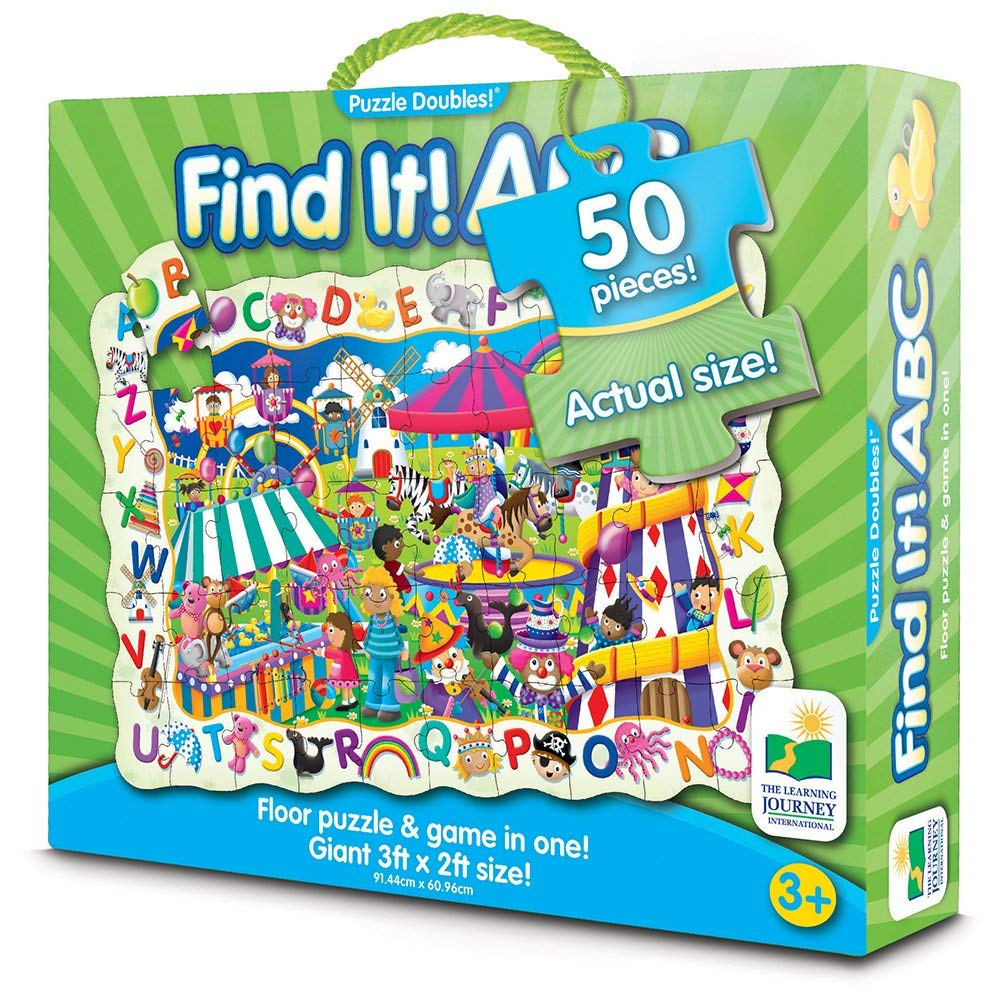 The Learning Journey - 696279 | Puzzle Doubles: Find It! ABC