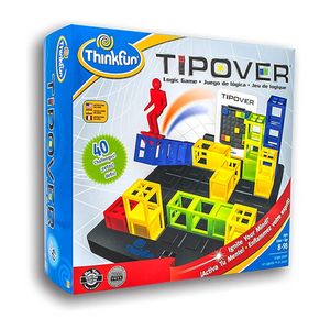 ThinkFun - 070700 | Tipover 3D Strategy Logic Game