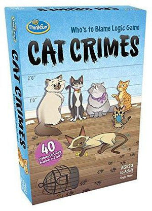 ThinkFun - 01550 | Cat Crimes Game