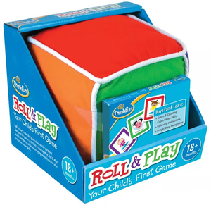 ThinkFun - 018009 | Roll & Play - Your Child's First Game
