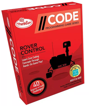 ThinkFun - 019020 | Coding Board Game: Rover Control
