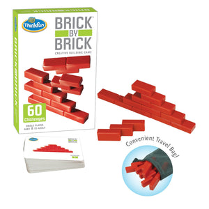 ThinkFun - 05901 | Brick by Brick Game