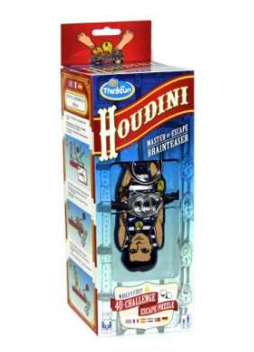 ThinkFun - 735140 | Houdini - Master of Escape