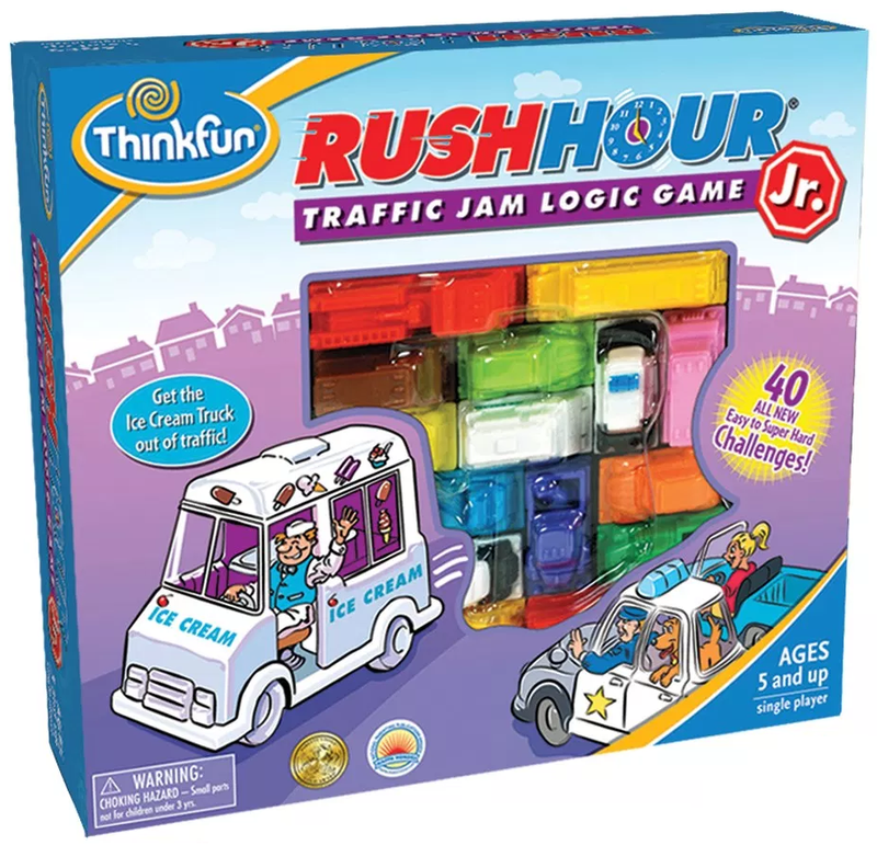 ThinkFun - 735270 | Junior Rush Hour