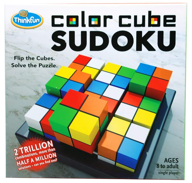 ThinkFun - 76342 | Color Cube Sudoku Int.