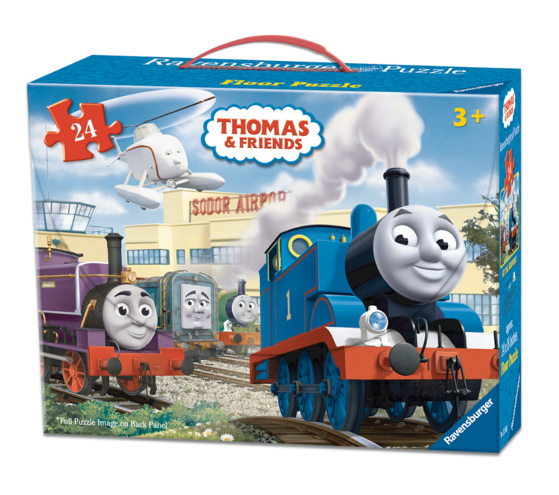 Ravensburger - 05388 | Thomas The Tank Engine: At The Airport (24 Piece Floor Puzzle)