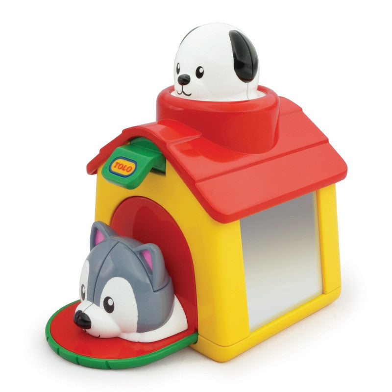 Tolo Pop-Up Puppies Doghouse Toy