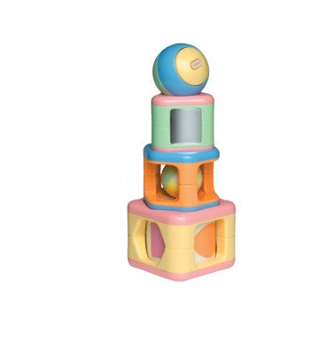 Tolo Stacking Activity Shapes Pastel