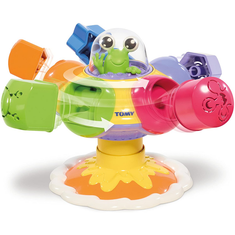 Tomy - E72611C | Sort & Pop Spinning UFO