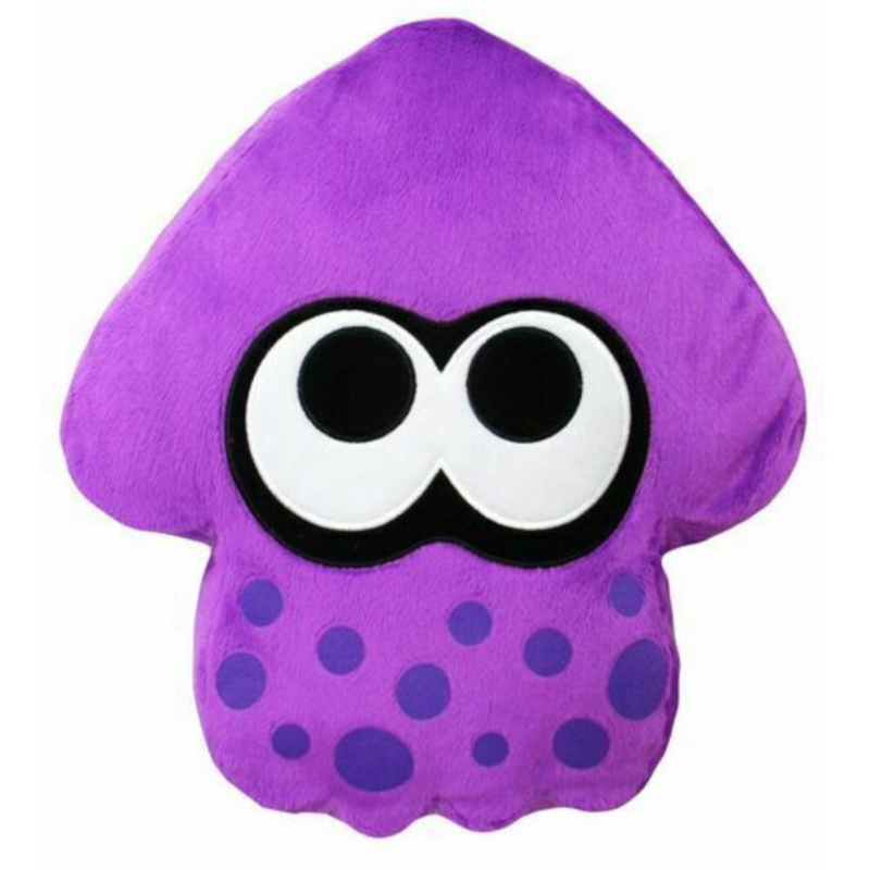 Tomy - T12950A7 | Nintendo Clip-On Splatoon Squid - Neon Purple