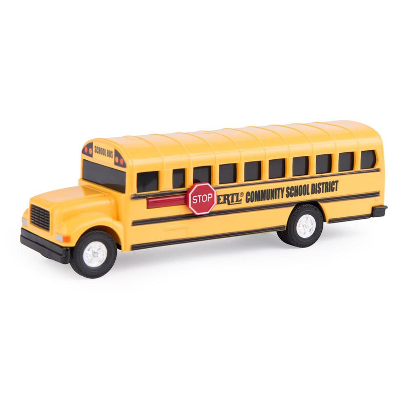 Tomy - 46581C | Yellow School Bus (4.3 Inch)