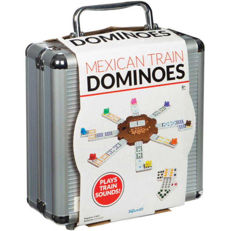 Toysmith - 8878 | Mexican Train Dominoes Game
