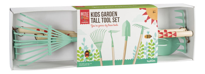 Toysmith - 22995 | Kids Garden Tall Tool Set