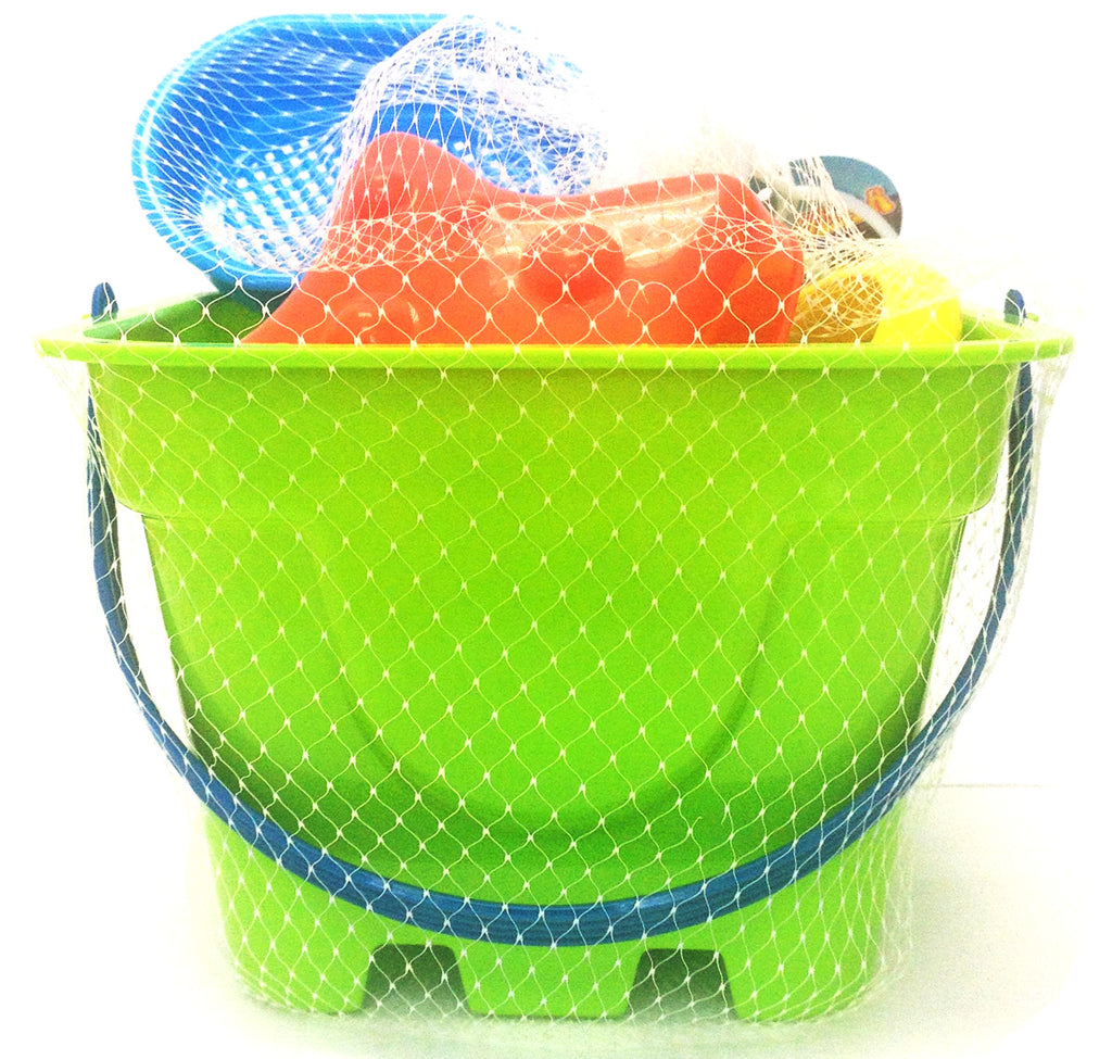 Toysmith - 2436 | 4Pc Beach Bucket Set