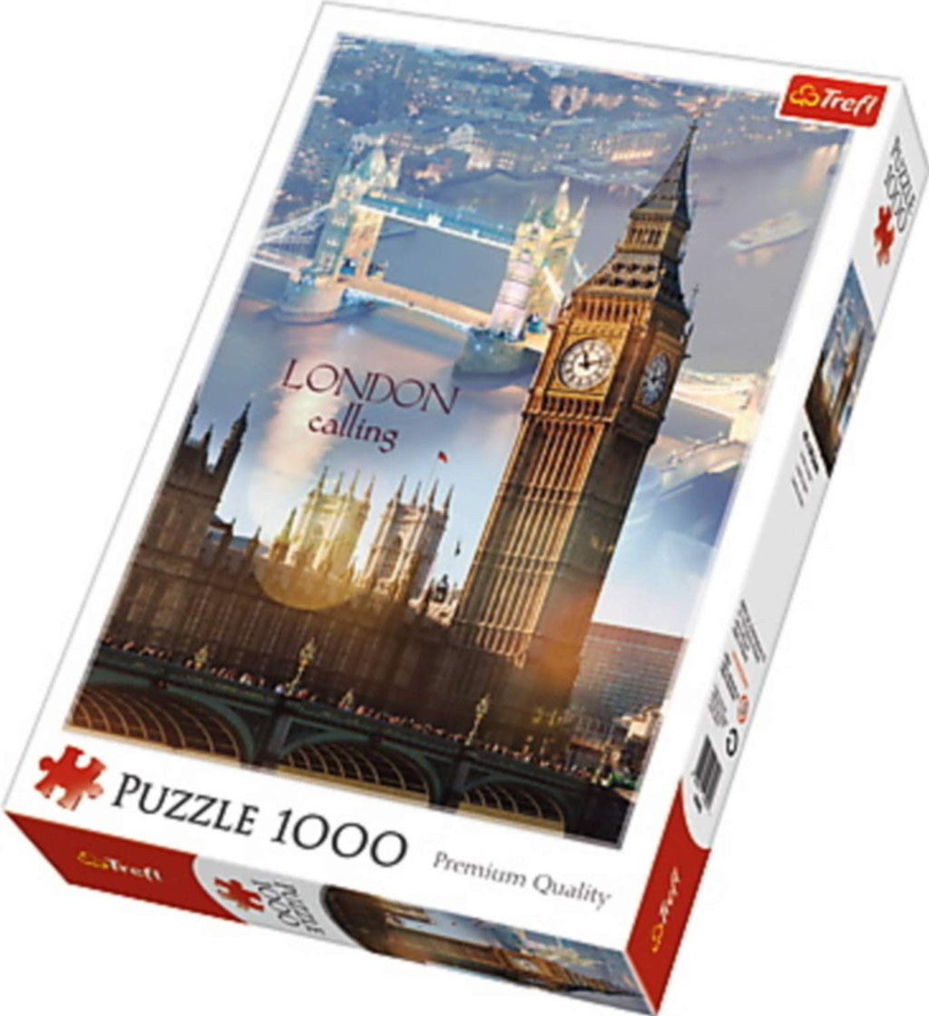 Trefl - 103953 | London At Dawn (1000 Piece Puzzle)