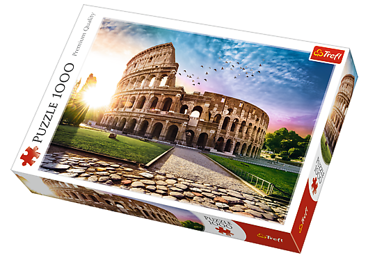 Trefl - 104684 | Colosseum At Dawn (1000 Piece Puzzle)