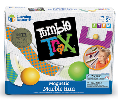 Learning Resources - LER2821 | Tumble Trax Magnetic Marble Run