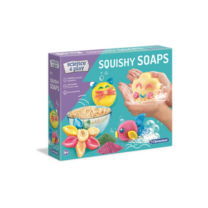 Clementoni - 61725 | Science & Play: Squishy Soaps