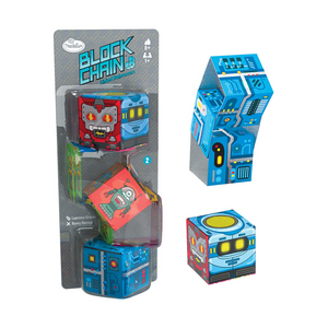 ThinkFun - 764259 | Block Chain - Linked Brainteasers: Robots