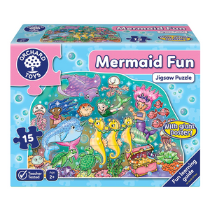Orchard Toys - 001870 | Mermaid Fun Puzzle - 15PC