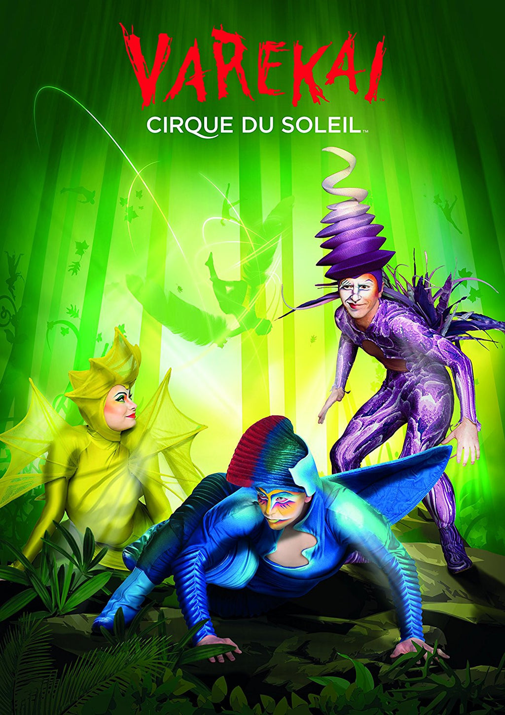 Cirque du Soleil show theme. Recommended for age 12+. Fully interlocking quality puzzle. 1000 pieces. Unisex - children.
