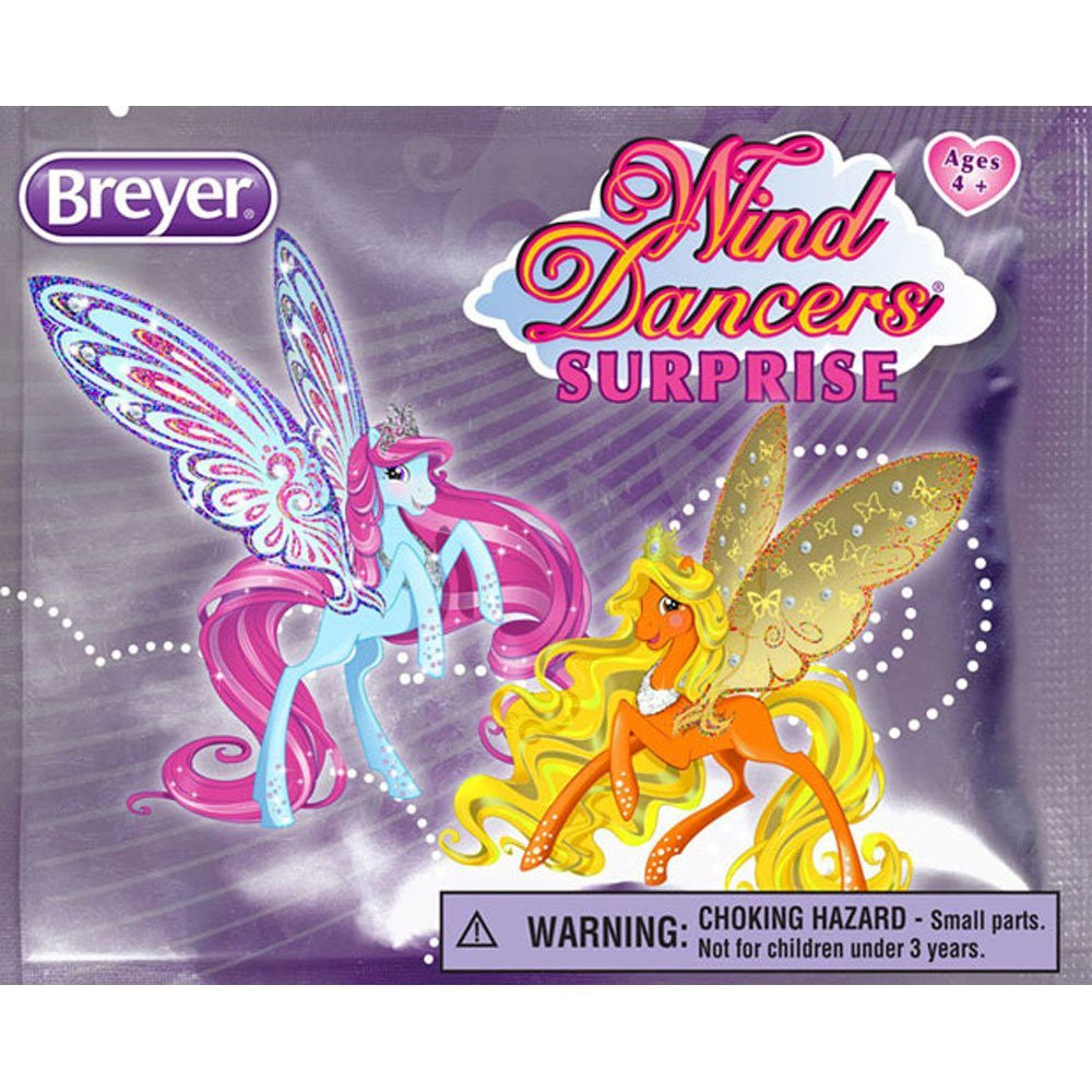 Blind Bag - One Piece Only! Children will love collecting all 12 mini Wind Dancers! And each purchase is a new adventure because every bag is a surprise! Each blind bag contains one cute mini Wand Dancer with detachable wings and its sticker! Collect the original four Wind Dancers: Kona, Sirocco, Brisa, Sumatra and their 8 new friends. This item ships blind, meaning you cannot choose which surprise model you'll get! Opened packages cannot be returned