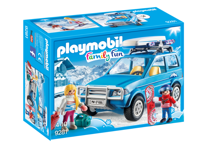 PLAYMOBIL WINTER SUV - 9281 Castle toys Kids