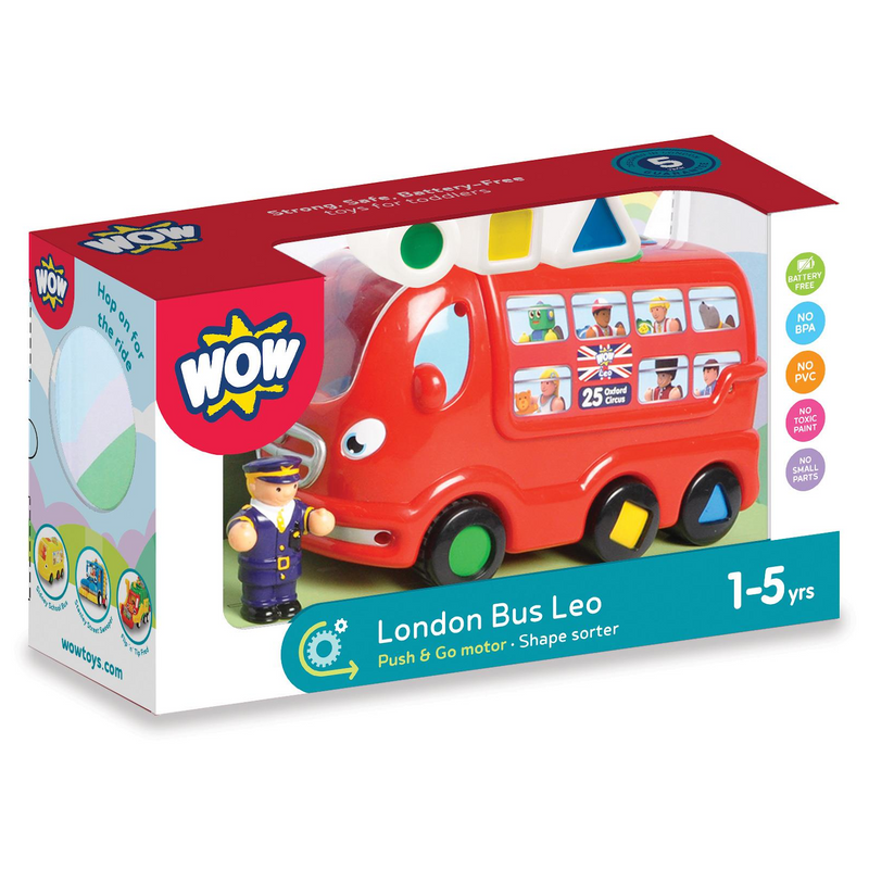 WOW Toys - 10720 | London Bus Leo