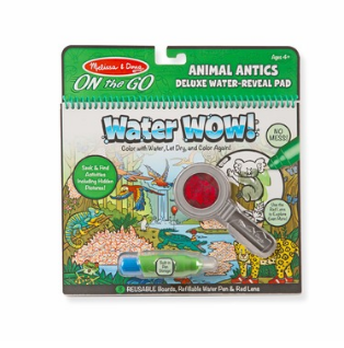 Melissa & Doug - 9314 Water Wow Animal Antics Water Reveal Pad