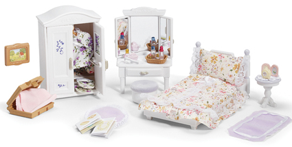 Calico Critters - CC2271 | Girls Lavender Bedroom