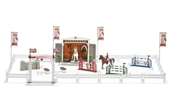Schleich - 42338 | Horse Club: Big Horse Show With Riders And Horses