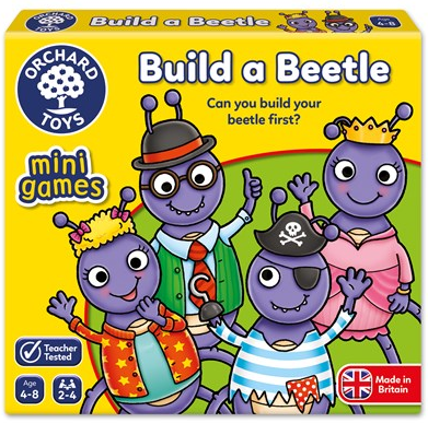 Orchard Toys - 354 | Build A Beetle