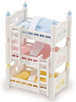 Calico Critters - CC2624 | Triple Baby Bunk Beds