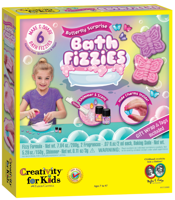 Creativity for Kids - 6155000 | Butterfly Surprise Bath Fizzies