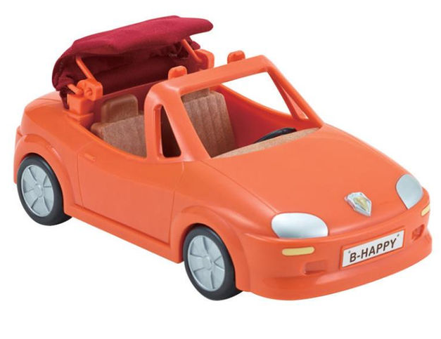 Calico Critters - CC1726 | Red Convertible Car
