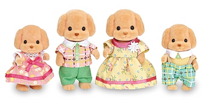 Calico Critters - CF1735 | Toy Poodle Family