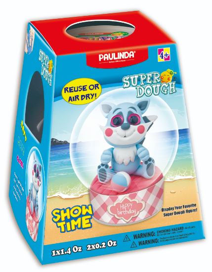 Paulinda - 81459-5 | Super Dough Show Time Cat